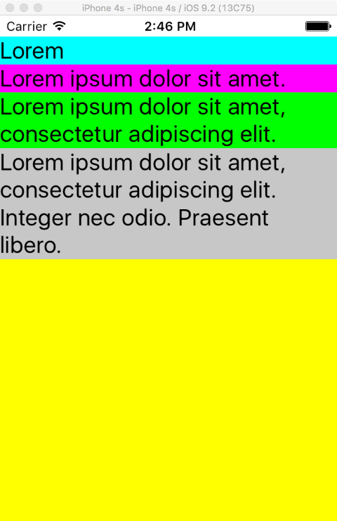 Xamarin Forms XAML Label Adjusts Font Size to Fit Width of Content